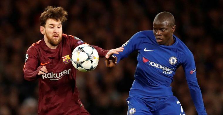 Messi verknalt feestje voor Hazard en Courtois op Stamford Bridge