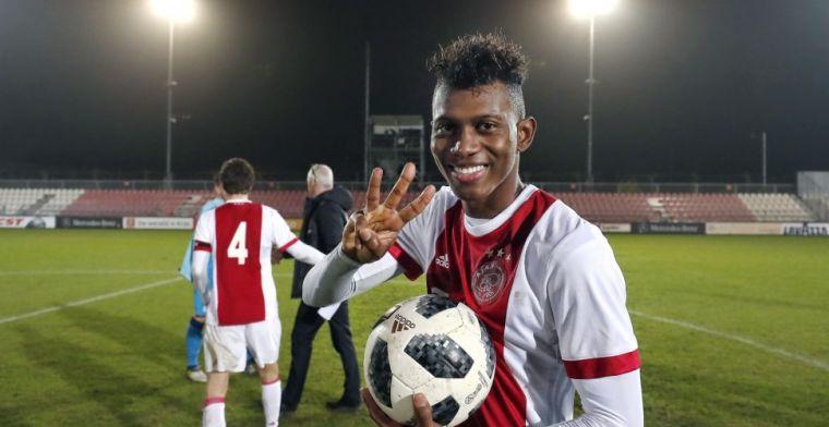 Gretige Jong Ajax-uitblinker: 'Heb de kans om minuten te maken in de Eredivisie'