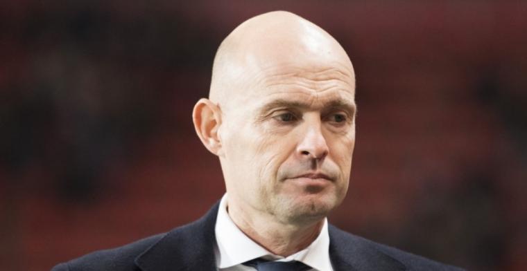Keizer 'niet gesteund' door Ajax-leiding: 'Dan mag je best voor je trainer staan'
