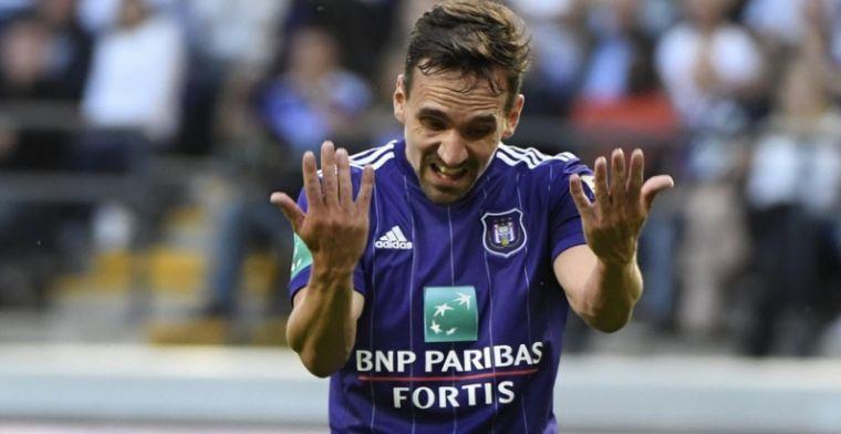 Vaste waarde Anderlecht nog voor de rest van het seizoen op de sukkel