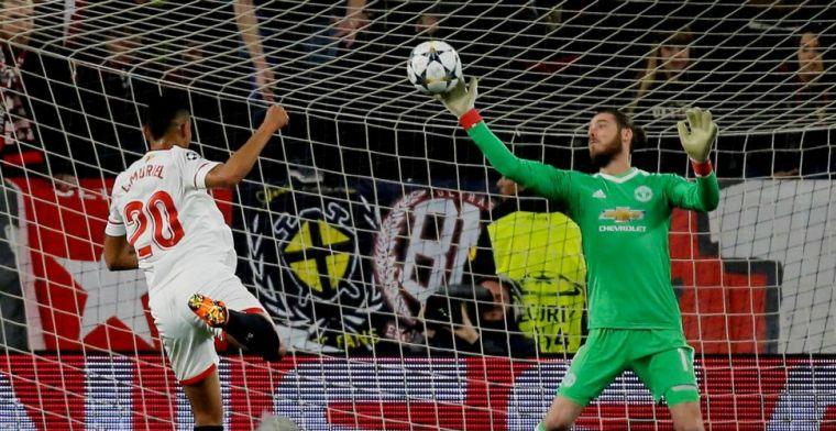 Champions League: De Gea redt Manchester United, Shakhtar klopt Roma