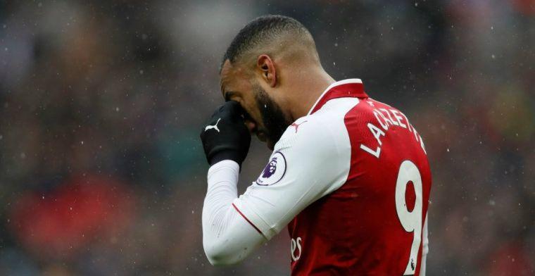 'Als je Lacazette bent, wil je dan nog bij Arsenal blijven? Hij moet daar weg'