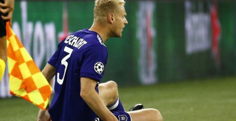 'Saga Deschacht duurt voort, Anderlecht en verdediger wel op dezelfde lijn'