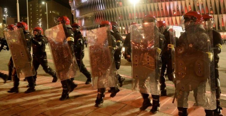 Spaanse media: agent overleden na bizarre vuurwerkruzie tussen hooligans in Bilbao
