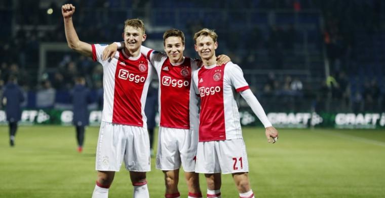 Hopen op nieuwe Ajax-kans: 'Denk dat iedereen dat hier wel heeft'