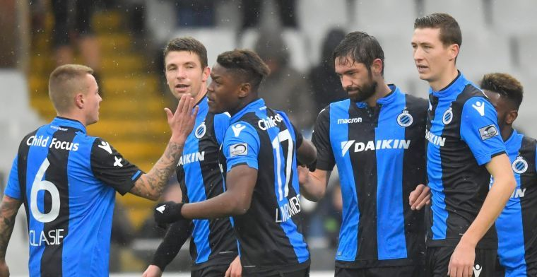'Club Brugge ziet sterkhouder niet meer terug voor de Play-Offs'