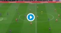Imagen: VÍDEO | Luis Suárez empató tras una asistencia magistral de Messi