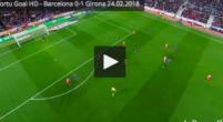 Imagen: VÍDEO | Portu marcó el primer gol en el Camp Nou tras un grave error de Umtiti