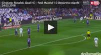 Imagen: VÍDEO | Cristiano adelantó al Madrid tras un pase con mucha clase de Benzema