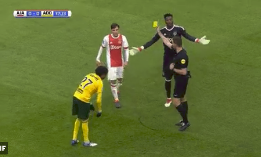 Tagliafico krijgt twee keer geel, maar géén rood van Van Boekel