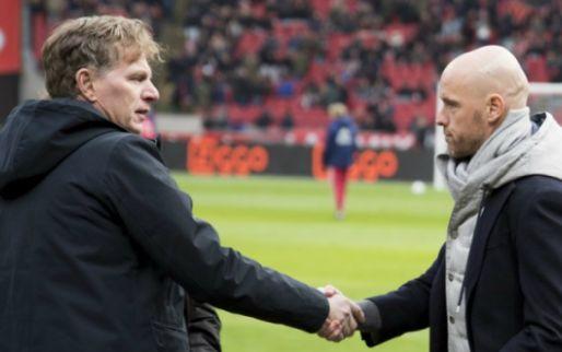 Massale kritiek op Ten Hag: 'Ook zijn wisselbeleid kost Ajax de titel'