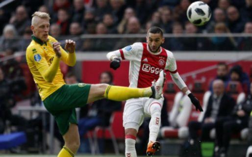 'Ik had het gevoel dat de spelers van Ajax van alle kanten op me afkwamen'
