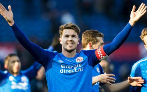 Van Ginkel grinnikt om puntenverlies Ajax: 'Ze zouden de druk even opvoeren'