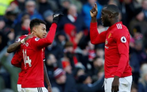Uitblinkende Lukaku helpt Manchester United aan overwinning op Chelsea
