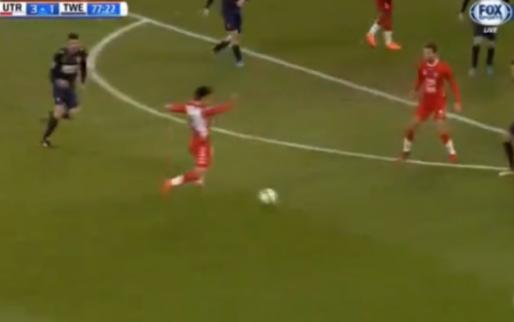 Ayoub en Van de Streek laten Utrecht-fans juichen met heerlijk doelpunt