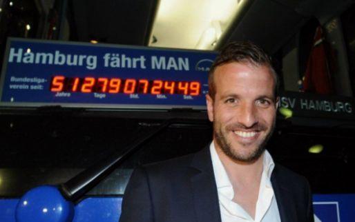 Afbeelding: Van der Vaart: 'Ik had de Ballon d'Or kunnen winnen als ik iets sneller was'