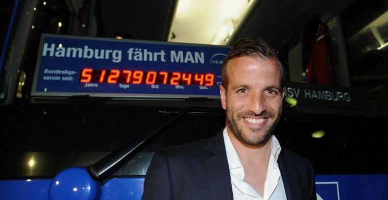 Van der Vaart: 'Ik had de Ballon d'Or kunnen winnen als ik iets sneller was'