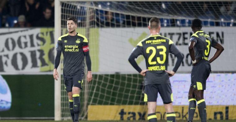 Perez neemt het op voor PSV na blamage: Ik kan me er wel iets bij voorstellen