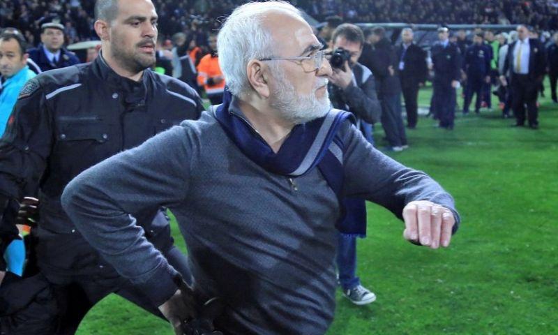 Imagen: OFICIAL lSuspendida la liga griega hasta nuevo aviso tras el incidente con pistola