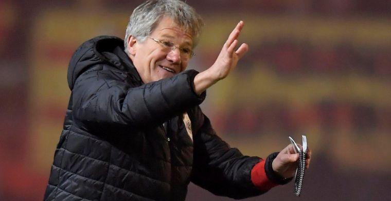 Antwerp-baas Gheysens laat zich uit over de toekomst van Bölöni bij de club