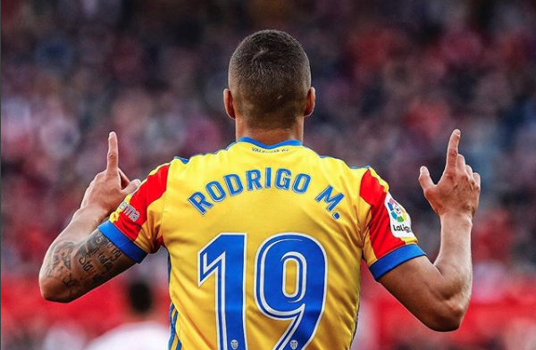 Mensaje de Rodrigo tras sus dos goles que afianzan al Valencia en zona Champions