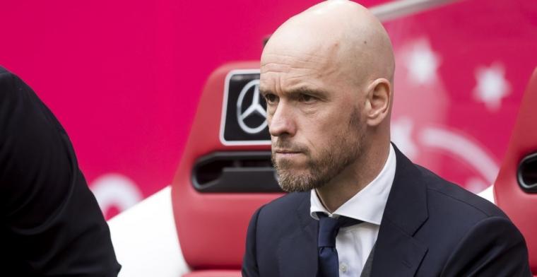Ten Hag: 'Nu moet hij gaan knokken voor een basisplaats bij Ajax'