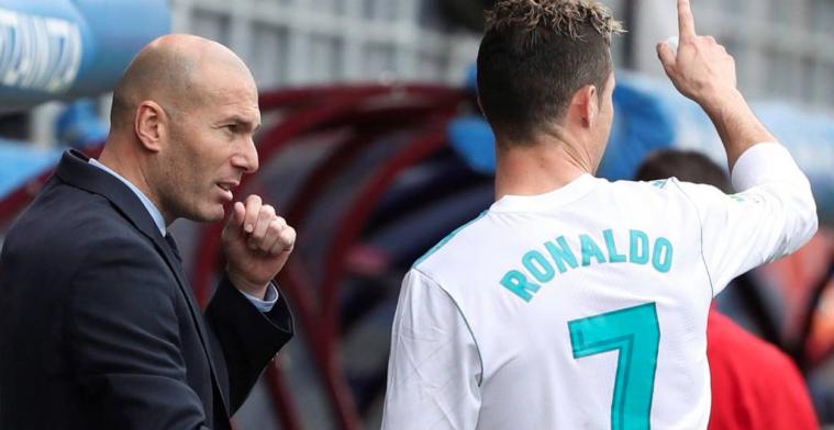 Desvelada parte de la charla de Zidane que reactivó a Cristiano