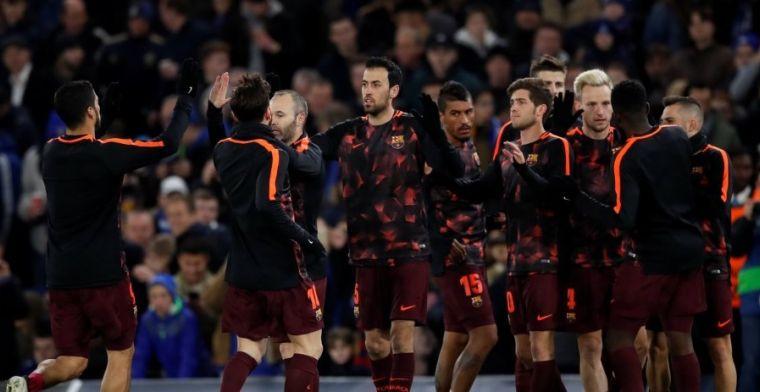 Sergi Roberto no ha entrenado y preocupa su ausencia ante el Chelsea