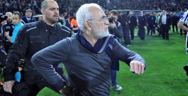 Griekse regering grijpt hard in na bizarre toestanden: competitie stilgelegd