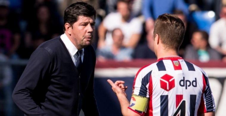 'Willem II-selectie keerde zich tegen Van de Looi: captain ging los in kleedkamer'