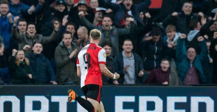 Jörgensen zocht steun bij Feyenoord-iconen: 'Magical player en heel fijn persoon'