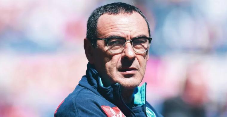 Sarri se descuelga con un comentario machista tras perder el liderato de la Serie A
