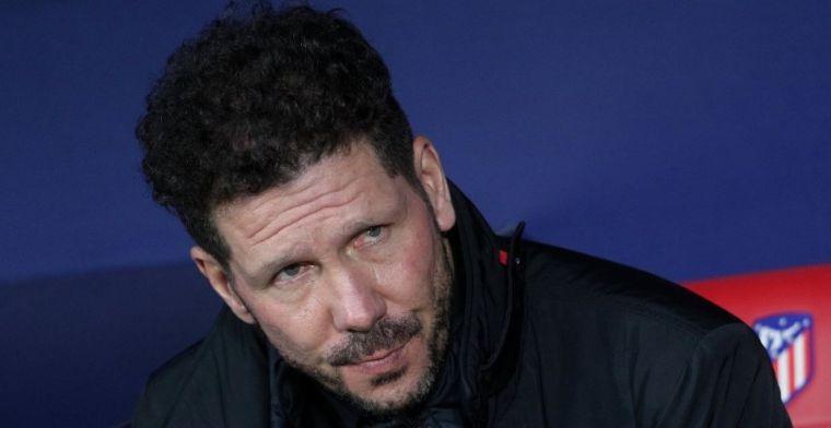 El Atlético publica la convocatoria para la Europa League con dos bajas de peso