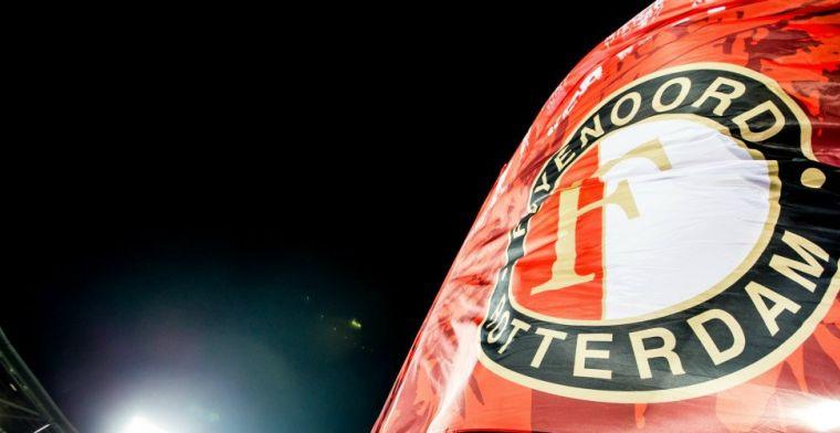 Commotie om Feyenoord-vlag in Amsterdam: directie haalt drie bouwvakkers van klus