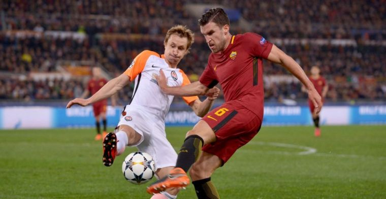 AS Roma bereikt kwartfinale dankzij schitterende assist Strootman
