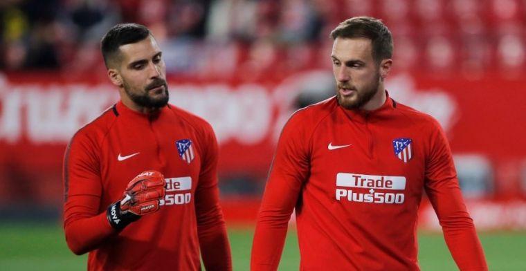 El Atlético de Madrid volverá a rotar en la portería en Moscú