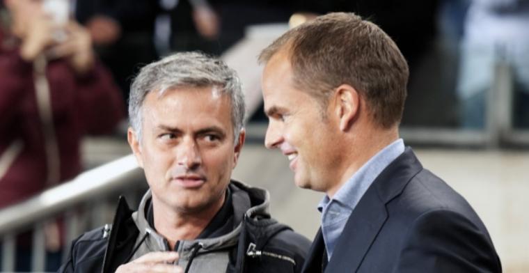 De Boer slaat terug na Mourinho-kritiek: 'Bijna een miljard uitgegeven'