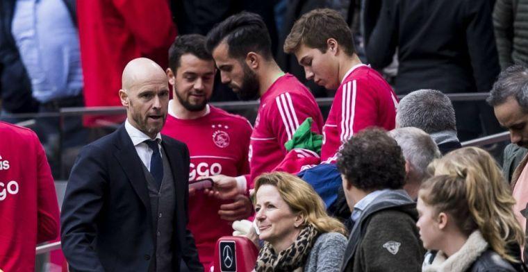 Ten Hag: 'Bij Ajax is dat niet abnormaal. Ik heb een hele lijst gezien'