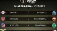 Imagen: Claro favoritismo para los principales candidatos a la Europa League en el sorteo de cuartos