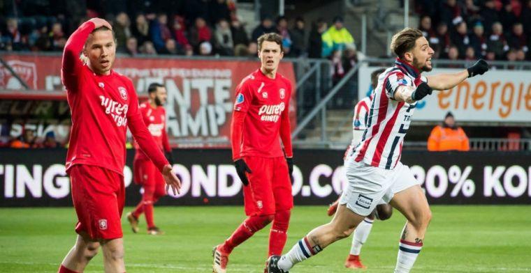 Matig FC Twente schiet niets op met zwaarbevochten remise tegen Willem II