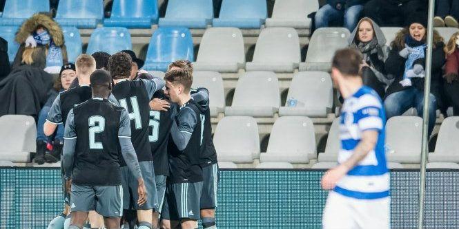 Eerste minuten in Ajax-shirt en direct assist: Ik ben nu gesetteld
