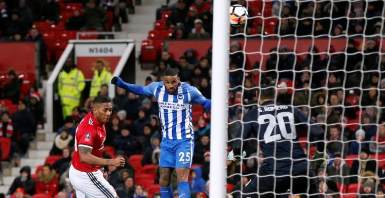 Manchester United naar de halve finale dankzij Lukaku