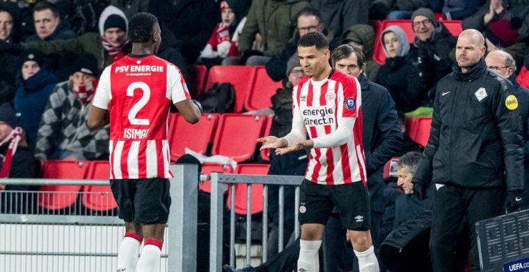 Eerste minuten in Eredivisie na 13 jaar PSV: 'Hopelijk het eerste hoofdstuk'