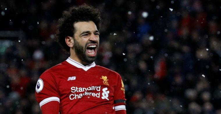Salah-show op Anfield: vier treffers voor topscorer en monsterzege Liverpool