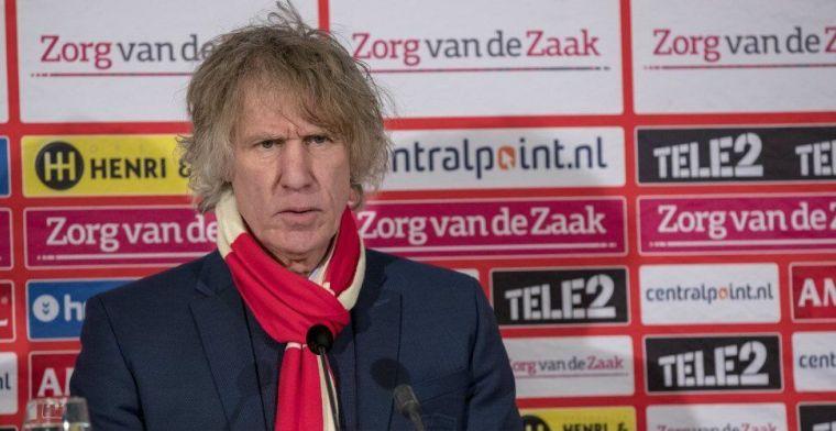 Verbeek: 'Was hier zaterdagochtend, tot half vier gebleven. Wat wil je nog meer?'