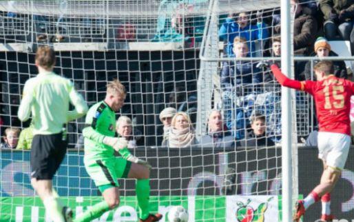 Afbeelding: AZ wint na Groningse comeback in 92e minuut en zit Ajax op de hielen