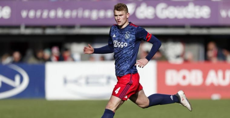 De Ligt over 'lastpak': Dat zie je niet vaak in de Eredivisie