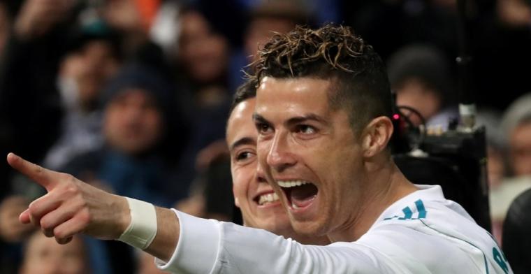 Fantastische Ronaldo maakt er vier voor Real Madrid in doelpuntenspektakel