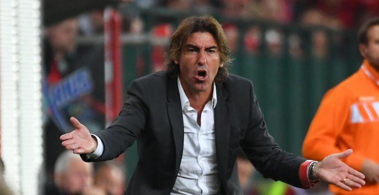 Standard valt in herhaling met irritant gedrag: 'Net zoals tegen Anderlecht'