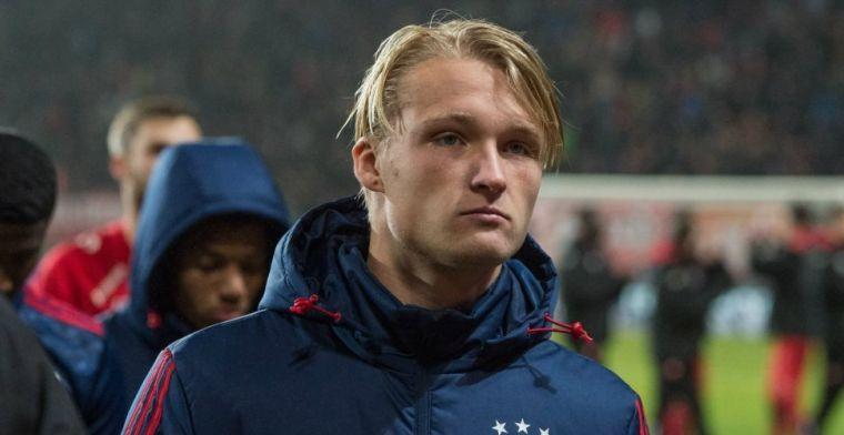 Opsteker Ajax: Dolberg traint weer buiten na maandenlange absentie